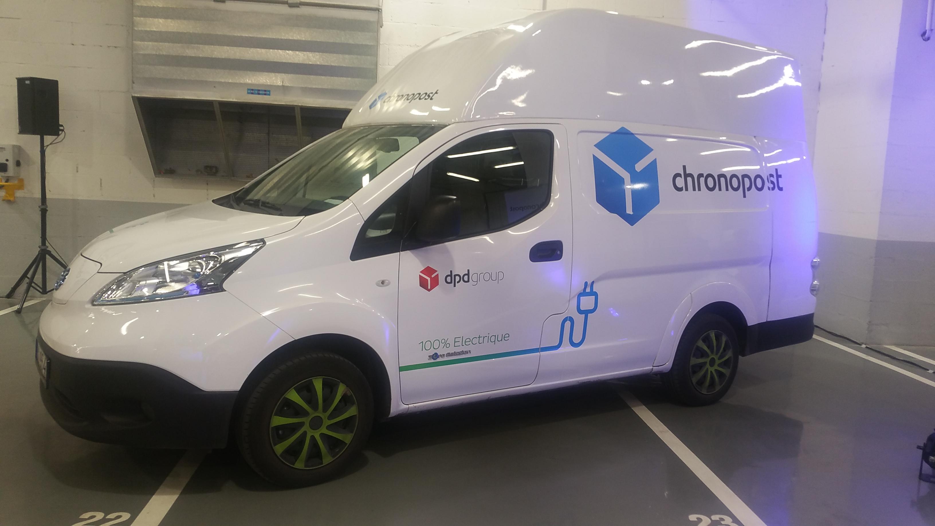vehicule electrique chronopost